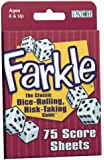 Patch Games & Accessories Farkle Score Sheets