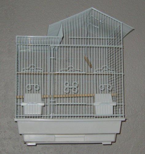 Vogelkäfig 1702 weiß 56 x 46 x 35 cm - EUR