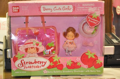 Berry Cute Girls ~ Berry Ballerina Strawberry Shortcake Berry Tote - 1