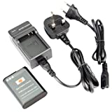 DSTE® EN-EL23 Replacement Li-ion Battery + Charger DC152U for Nikon Coolpix P600, Coolpix S810c Digital Camera
