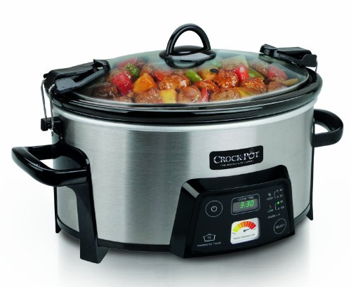 Crock-Pot SCCPCTS605-S Cook Travel Serve 6-Quart Programmable Slow Cooker