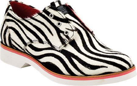 Sperry Top Sider Delancey Casual Flat Shoe - Black White Zebra 9278029