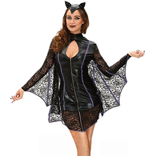 Christmas YeeATZ Women's Flirty Vamp Bat Costume(Size,L)