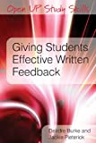 Deirdre Burke Giving Students Effective Written Feedback (Open Up Study Skills)