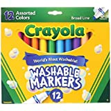 Crayola Count of 12 Washable Markers (58-7812)