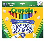 Crayola Count of 12 Washable Markers ...