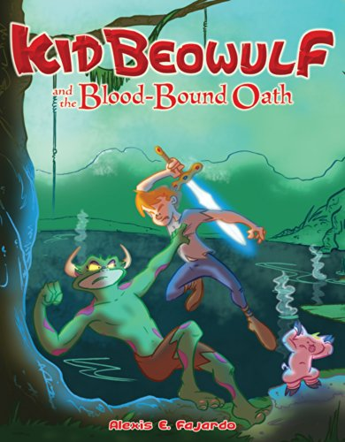 Alexis E. Fajardo - Kid Beowulf and the Blood-Bound Oath (NOOK Comics with Zoom View)