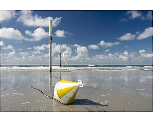 photographic-print-of-beach-marker-posts-and-a-buoy-st-peter-ording-schleswig-holstein-germany