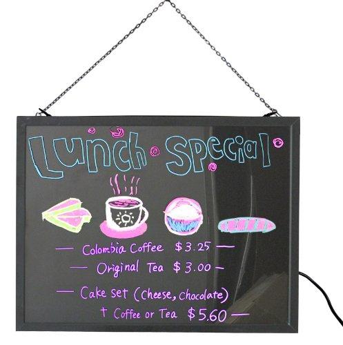 LED Light Party Decoration LED Color Fluorescent Writing Menu Board Illuminated Sign