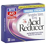 Rite Aid Pharmacy Acid Reducer, Original Strength, Tablets, 30 tablets