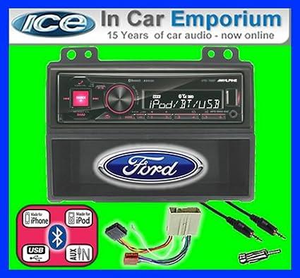 Ford Fusion-Alpine UTE 72BT kit mains libres Bluetooth de voiture pour autoradio stéréo