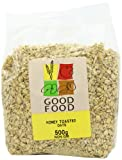 Mintons Good Food Pre-Packed Honey Toasted Oats 500 g (Pack of 5)