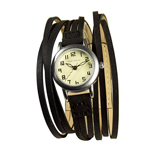 tokyobay-ladies-gaucho-black-subtle-leather-watch