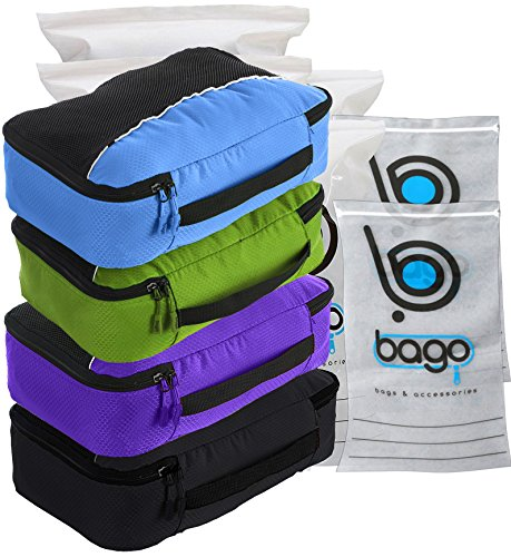 packing-cubes-4pcs-value-set-for-travel-medium-black-blue-purple-green