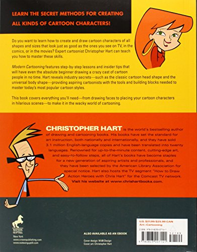 Christopher Hart Cartooning The Ultimate Character Design Book Pdf : Modern cartooning essential techniques for drawing today