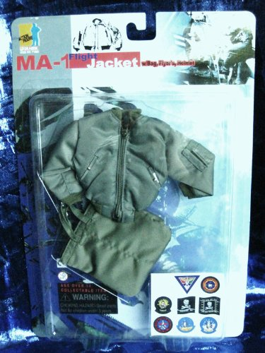 Buy Low Price Dragon Models 1/6 Scale Dragon Models MA-1 Flight Jacket for 12 inches figure (B0013KXSEQ)