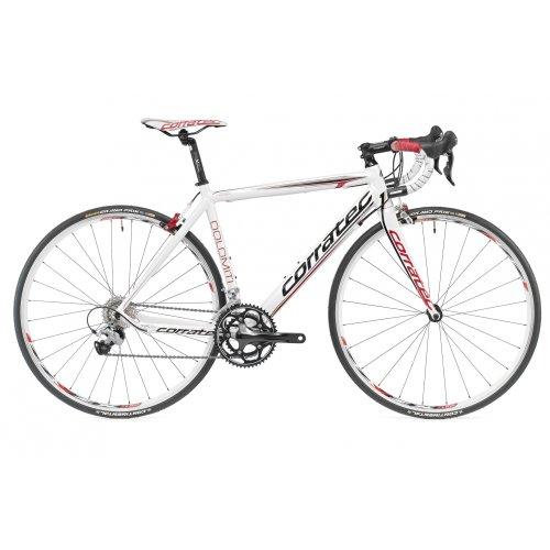 Road Bikes: Corratec Dolomiti Road bike Ultegra Compact white (2012 ...