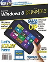 Exploring Windows 8 For Dummies Front Cover