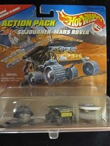 Hot Wheels JPL Sojourner Mars Rover Action Pack
