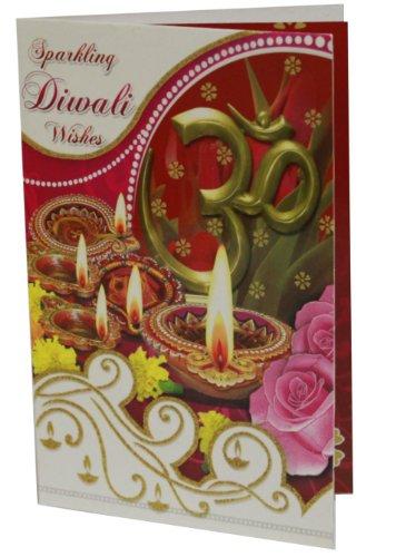Diwali / Deepavali Festival Indian Greeting Card