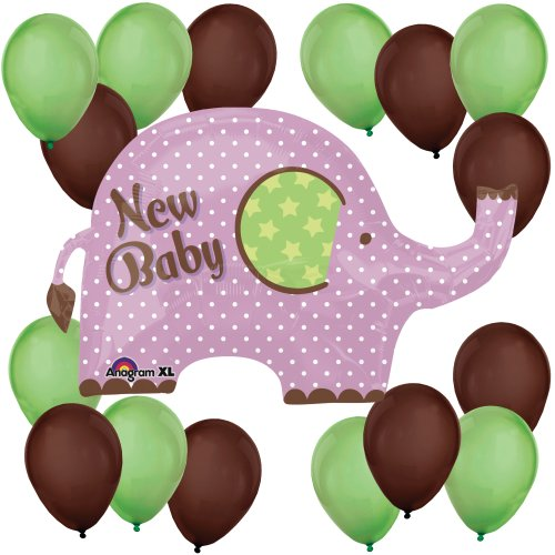 New Baby Elephant Balloon Kit