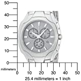 Citizen Men's AT0880-50A Eco-Drive Chronograph Stainless Steel Silver Dial Watch