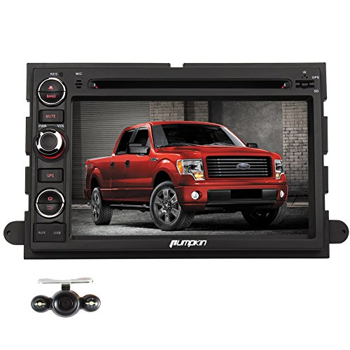 Pumpkin 7 inch Quad Core Android 4.4 Double Din Car Stereo for Ford  F150 Explorer 618c7b468809
