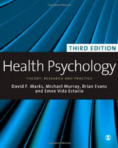 Health Psychology: Theory, Research and Practice