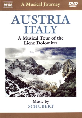 Cover art for  Naxos Scenic Musical Journeys Austria, Italy A Musical Tour of the Lienz Dolomites