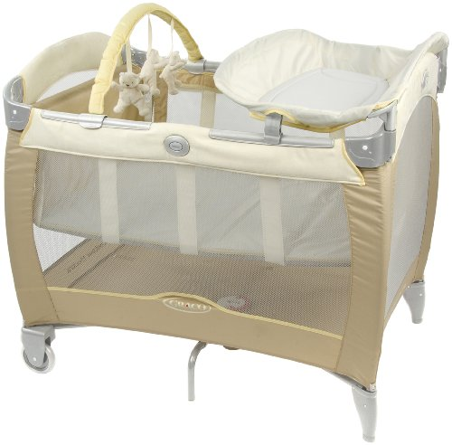 Graco Contour Electra Hedgerow Travel Cot