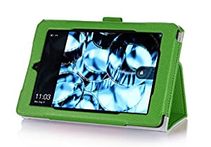 Fire HD 7 Case (4th Generation, 2014 Release) - ProCase Stand Folio Protective Cover Case for New Amazon Fire HD 7 Tablet 2014 Edition (will only fit 4th Gen Fire HD 7, 2014 release), comes with bonus procase stylus pen (Green)