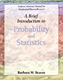img - for Student Solutions Manual for Mendenhall's Brief Introduction to Probability and Statistics book / textbook / text book