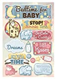 Cardstock Stickers, Bedtime for Baby