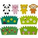 monkey panda Baran divider sheets for Bento Box Lunch Box