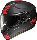 ショウエイ (SHOEI) ヘルメット  GT-Air WANDERER (ワンダラー) TC-1 (RED/BLACK) Mサイズ (57cm)