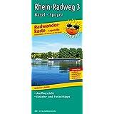 Radwanderkarte Leporello Rhein-Radweg 3, Basel - Speyer: Mit Ausflugszielen, Einkehr- & Freizeittipps, wetterfest, reißfest, abwischbar, GPS-genau. 1:50000