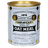 Mccanns Traditional Irish Oatmeal Tin 28 Oz Pack 12 Case