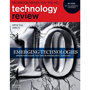 Audible Technology Review, May 2011 | [Technology Review]