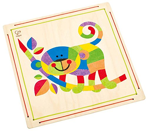 Hape E5115 Crafts - Monkey Business Sand Art - 1