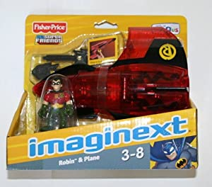 Amazon Com Imaginext Exclusive Dc Super Friends Robin
