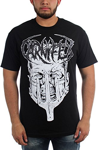 Carnifex-Fire and Blood-Maglietta da uomo nero Large