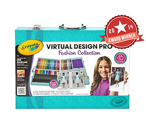 Awardpedia crayola virtual design pro fashion set Crayola fashion design studio reviews