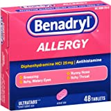 Benadryl Allergy Relief Ultratab Tablets, 48-Count
