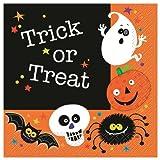 20 servilletas peque�os Monstruos Halloween