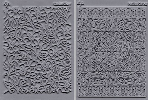 Lisa Pavelka 327090 Texture Stamp Kit Flourish