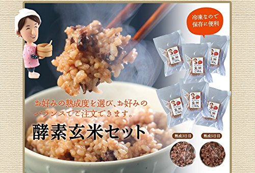 さっちゃんの酵素玄米ごはん 熟成5日目 酵素玄米セット (14パック)