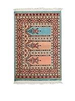 Navaei & Co. Alfombra Kashmir Azul/Multicolor 99 x 61 cm