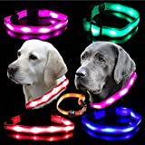 UC Express® Hunde Leuchthalsband Universell LED...