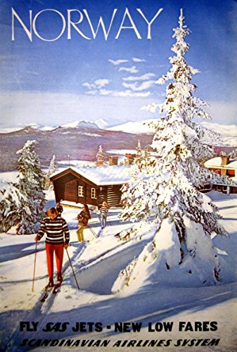 scandanavian-airlines-norway-wonderful-a4-glossy-art-print-taken-from-a-rare-vintage-travel-poster