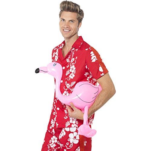 Aufblasbarer Flamingo Hawaii Party